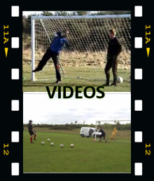 Watch our goalkeeping training videos